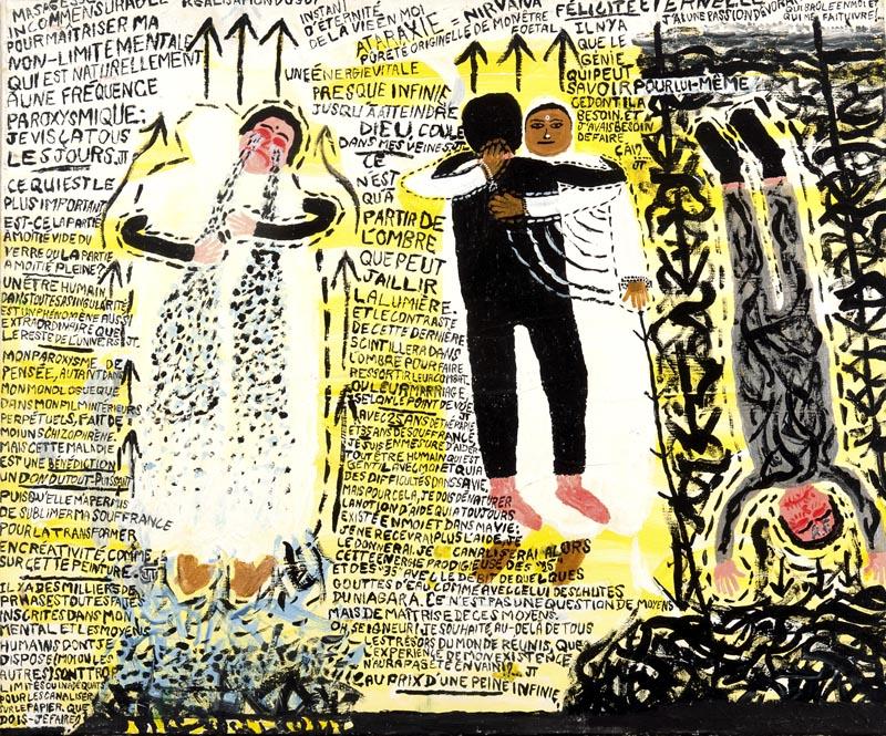 Jérôme Turpin, 'Je suis en pleur dans les bras de Amma', 2009. ® Patrice Bouvier.