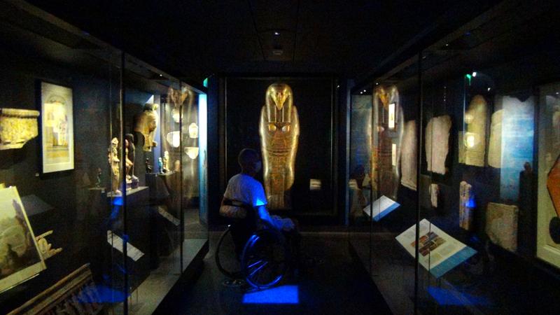 Musée d'art classique de Mougins, salle égyptienne