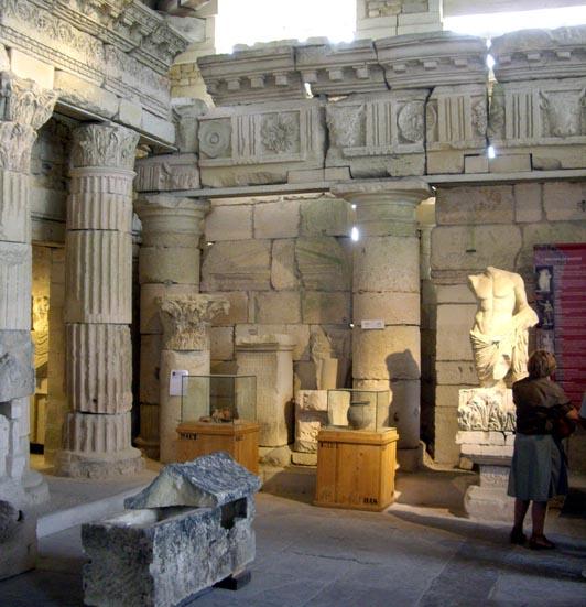 musée archéologique de Saintes