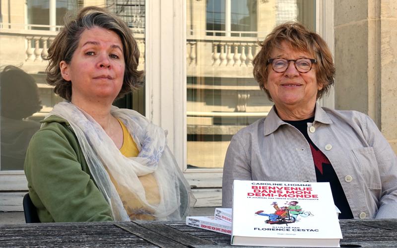 Caroline Lhomme et Florence Cestac