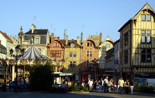 Centre-ville de Troyes