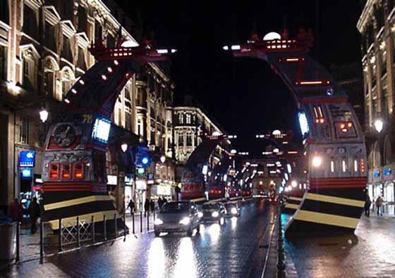 Lille : Les arches de Mézières. Photo Denis Ouaillarbourou.