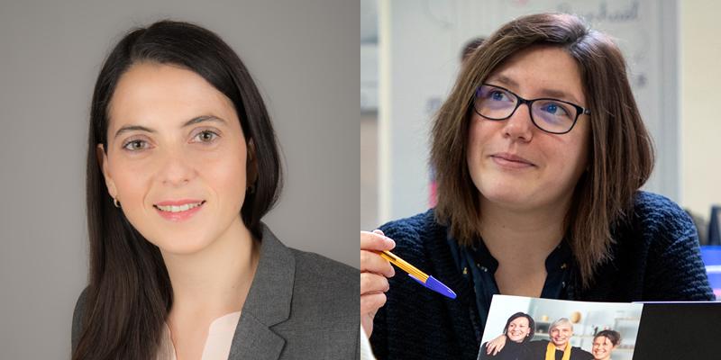 Simona Burgio et Amélie Gautier